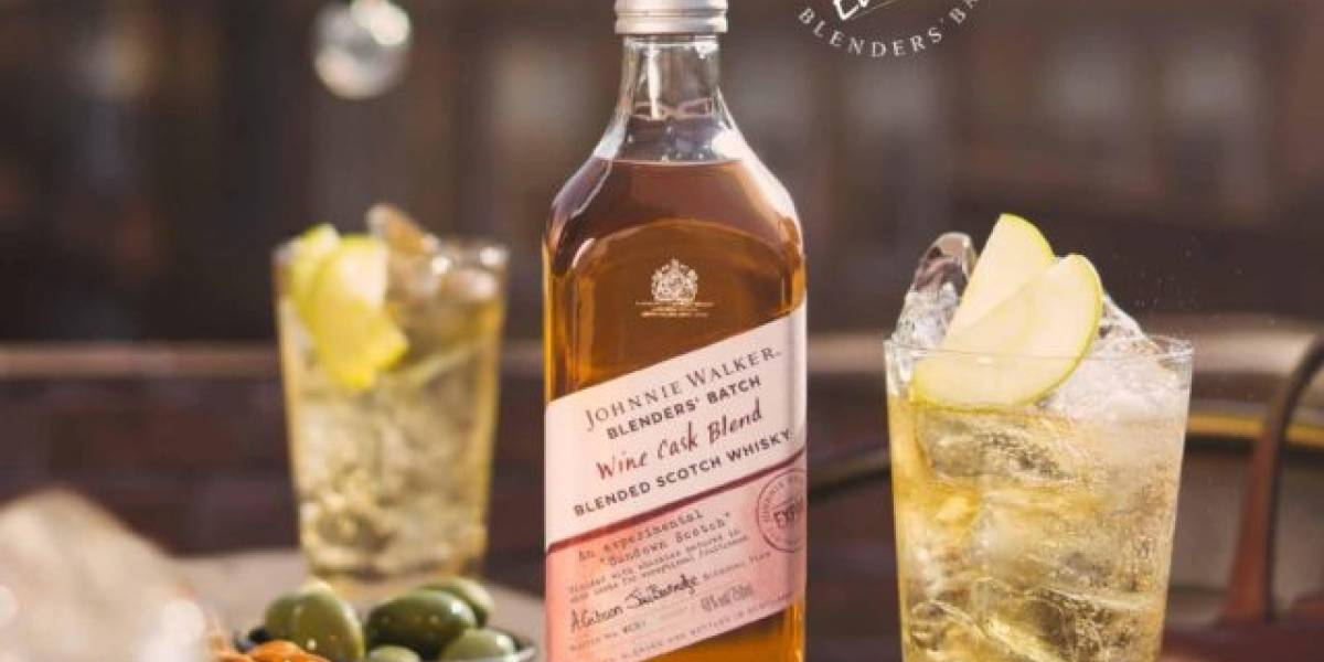 Nueva edición limitada de Johnnie Walker Blender's Batch