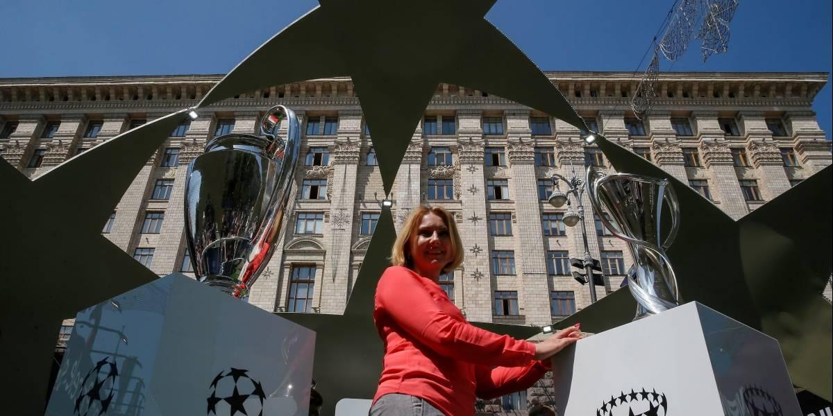 Metro en Kiev: Real Madrid vs Liverpool se juegan la historia en Kiev