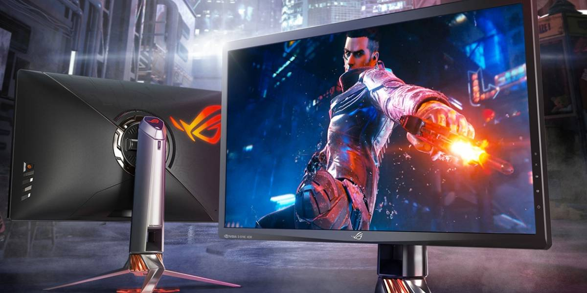 ASUS entra a la guerra de monitores y lanzará su NVIDIA G-Sync en junio 2018