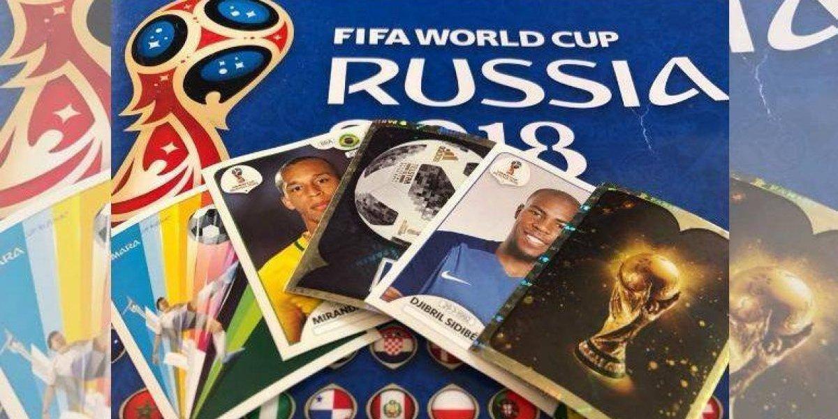 Venden estampitas piratas del álbum del Mundial de Rusia 2018