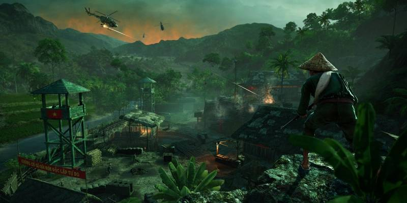 La nueva expansión de Far Cry 5 se ambienta en la guerra de Vietnam