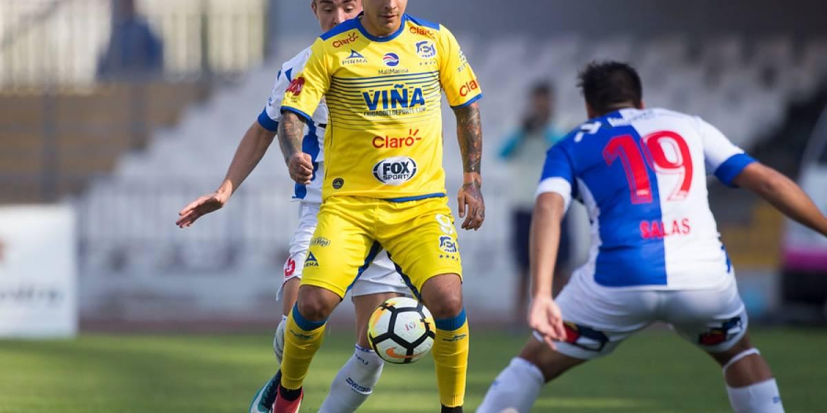 DT de Everton anunció que habrá duras sanciones internas contra Patricio Rubio