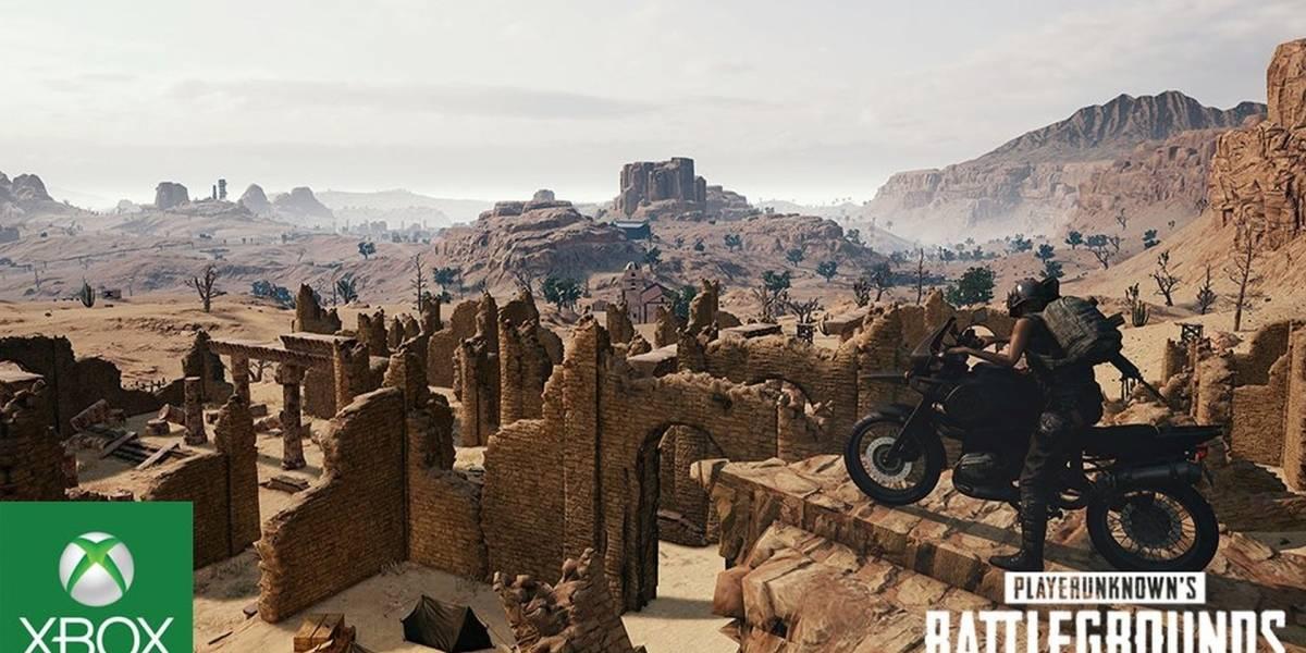 PUBG: El mapa Miramar ya está disponible en la versión para Xbox One
