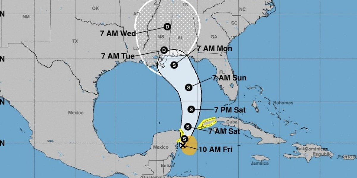 Se forma primera tormenta Alberto