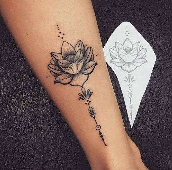 El Significado Del Tatuaje De Flor De Loto Simbolo De La Tradicion