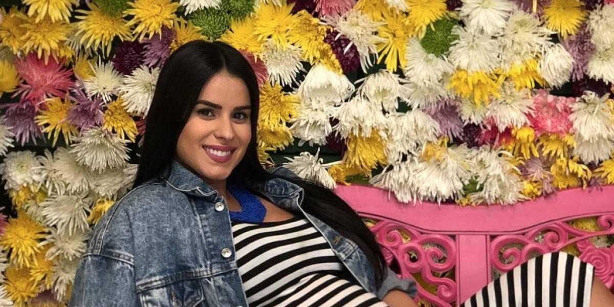 Vanessa de Roide sorprende con foto de su avanzado estado de embarazo