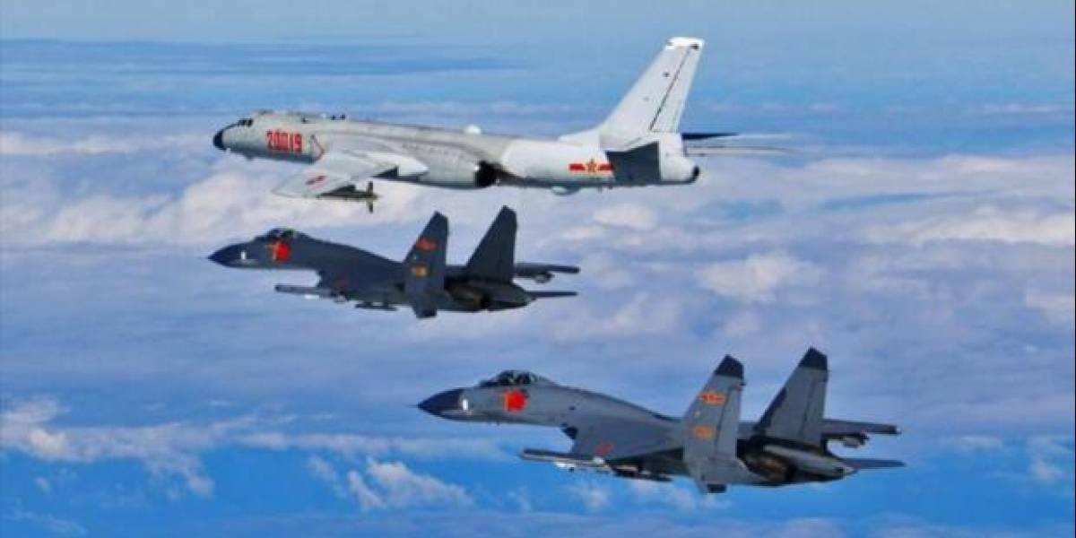 Taiwán moviliza aviones de combate para vigilar bombarderos chinos cercanos a la isla