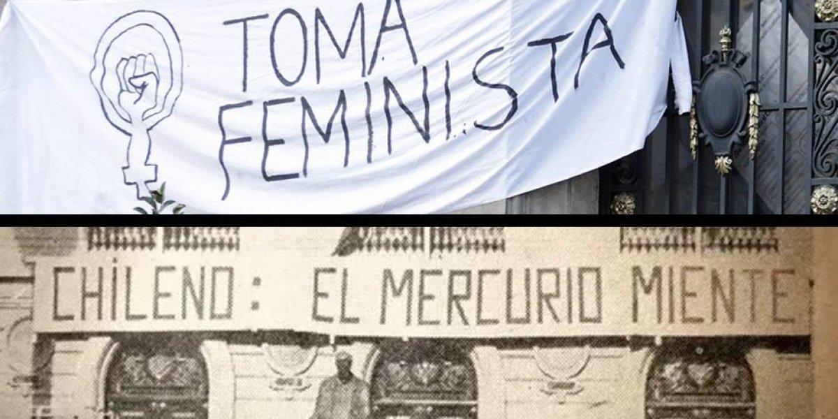 De la reforma universitaria a la ola feminista: así fue la histórica toma de la Casa Central de la Universidad Católica en 1967