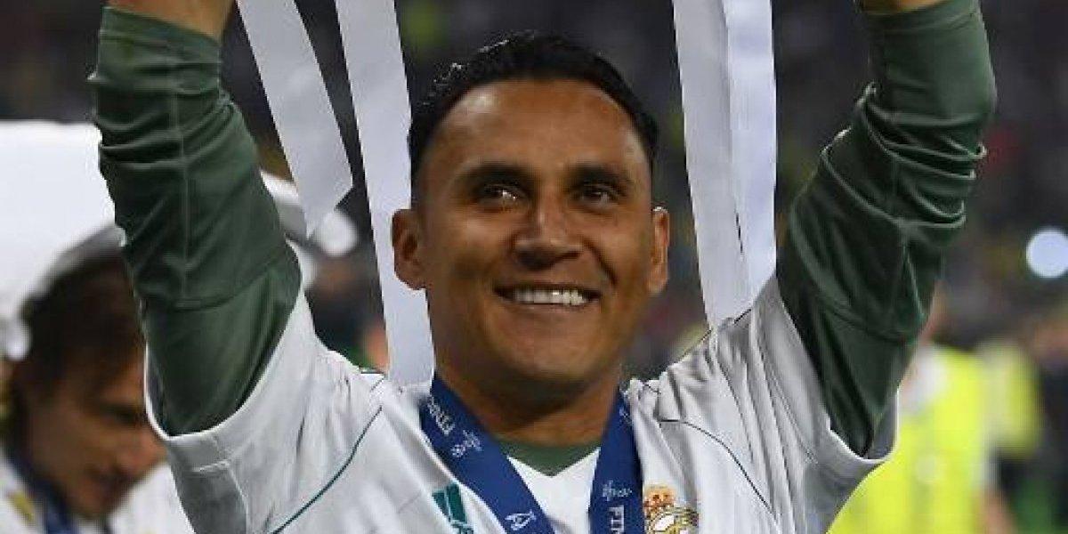Keylor Navas hace historia, gana su tercera Champions con el Madrid