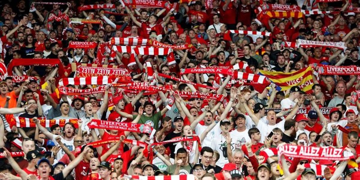 Liverpool: Envía video en Twitter donde muestra su 'poderío rojo'