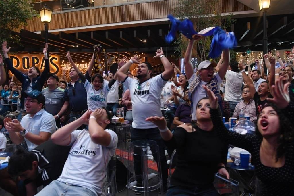 Así celebraron uno de los goles del Madrid sus aficionados en Guatemala