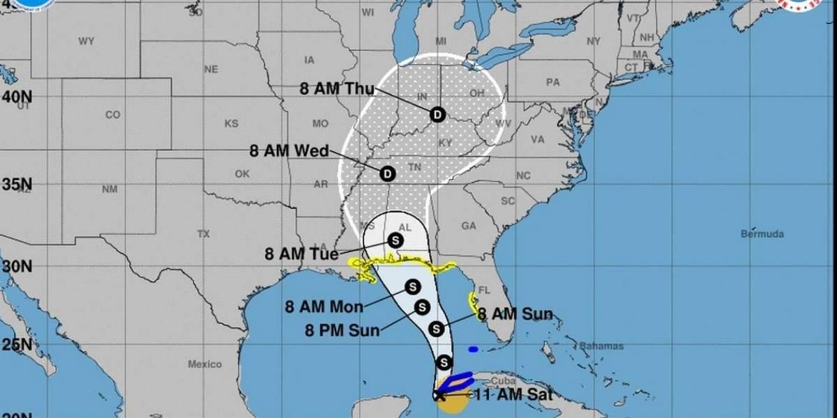 Se forma tormenta subtropical