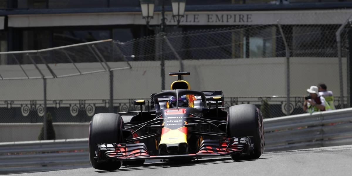 Daniel Ricciardo fue el más rápido y largará primero en el GP de Mónaco