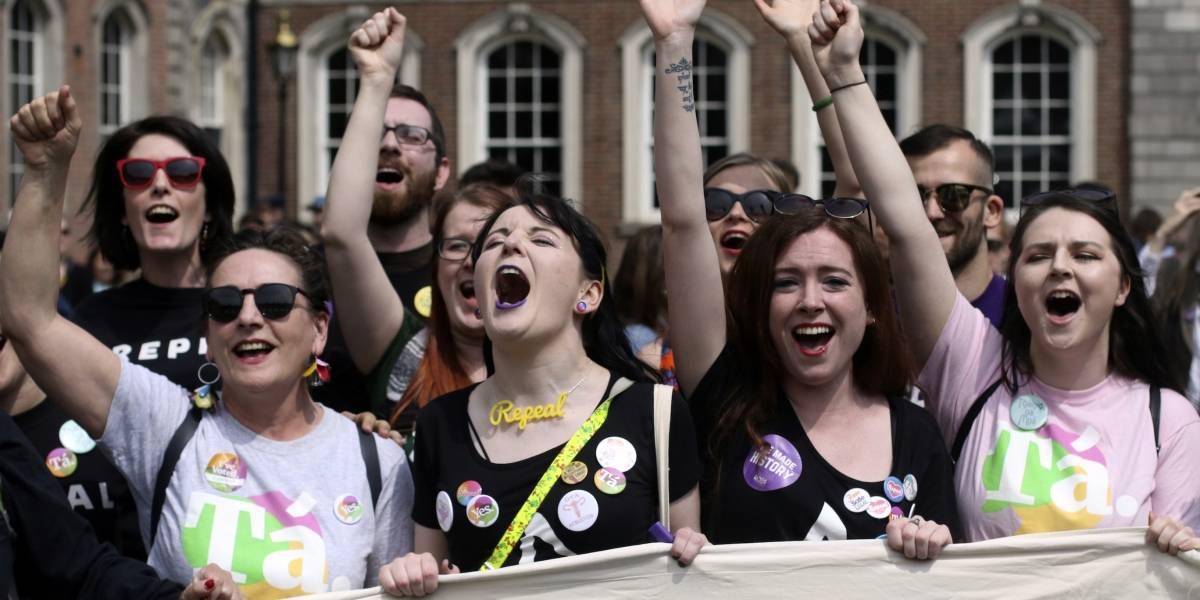 """El """"sí"""" al aborto gana en Irlanda con 66.4% de los votos"""