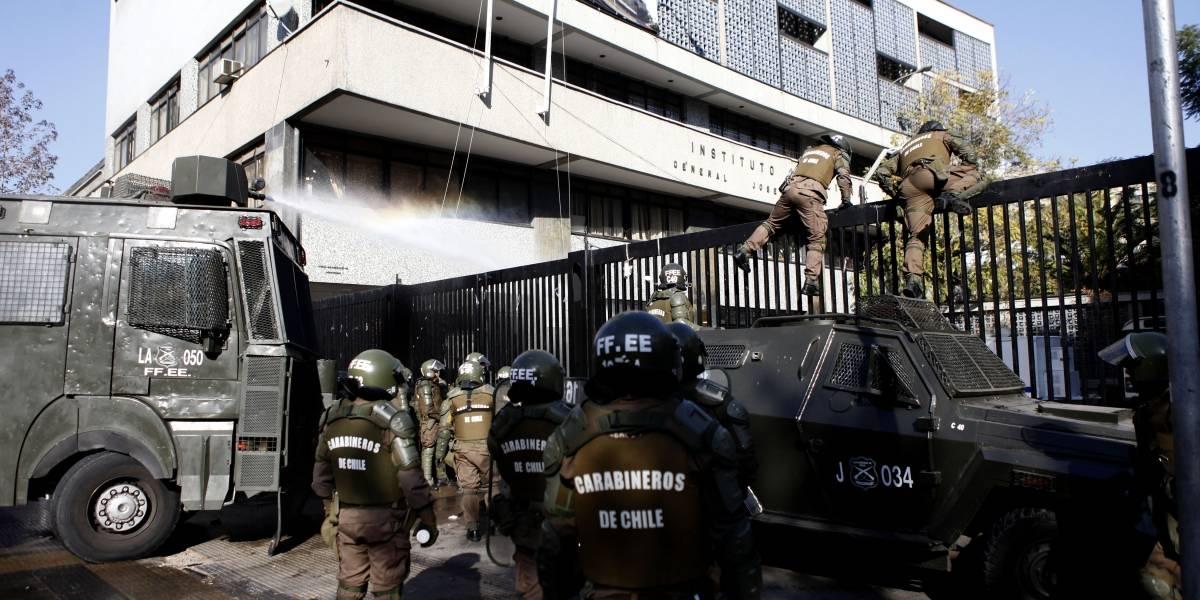 Instituto Nacional de Derecho Humanos presentará recurso contra violencia policial en Instituto Nacional