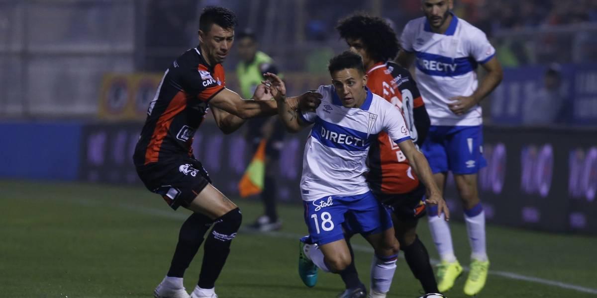 Así vivimos el empate de la UC ante Antofagasta en San Carlos