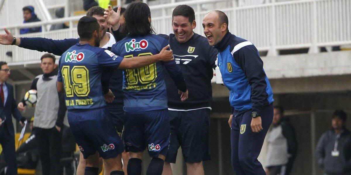 La U. de Concepción golea de visita a San Luis y es colíder del campeonato a la espera de la UC