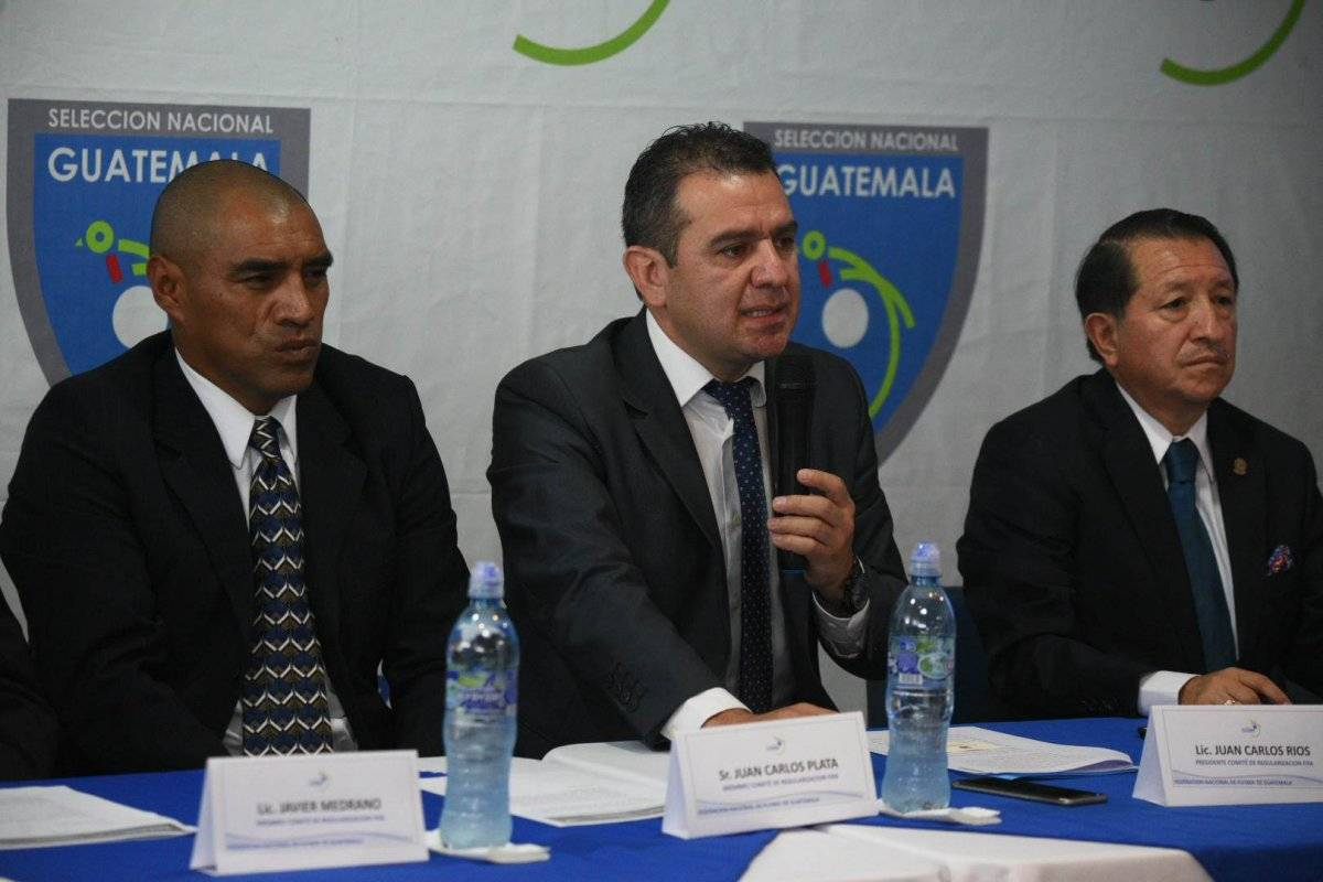 Juan Carlos Ríos, presidente del Comité de Regularización