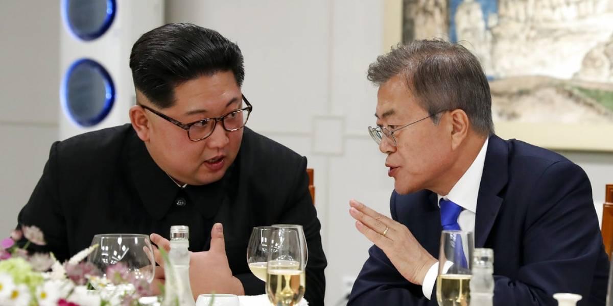 Líderes de ambas coreas se reúnen nuevamente en la zona desmilitarizada