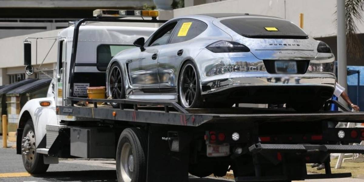Hacienda efectuará subasta de lujoso carro