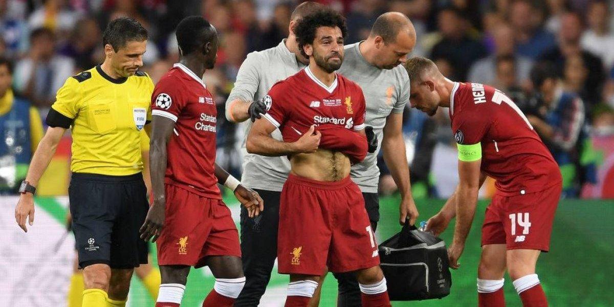 ¿Adiós Mundial? Salah será operado del hombro y se perdería Rusia 2018