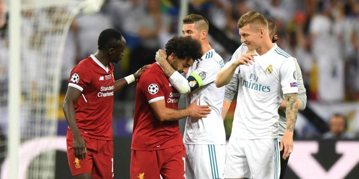 Sergio Ramos le manda mensaje a Mohamed Salah