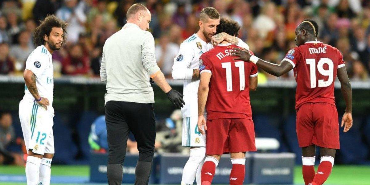 Ramos manda emotivo mensaje a Salah