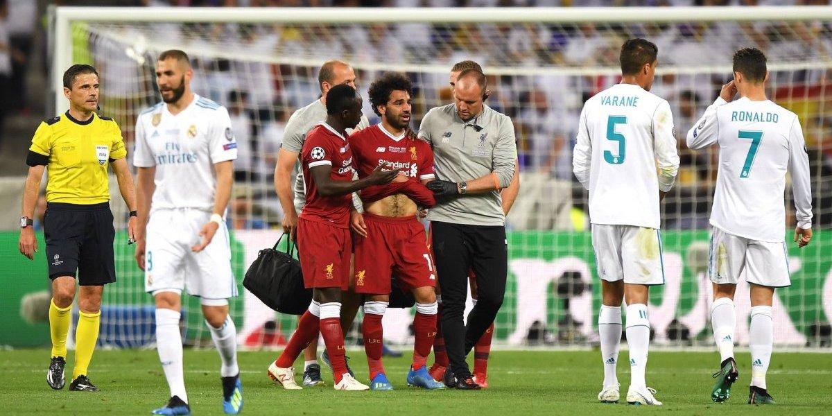 Mohamed Salah sí estaría para el Mundial de Rusia 2018