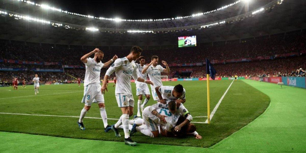 Real Madrid hace historia y conquista su decimotercera Champions frente al Liverpool