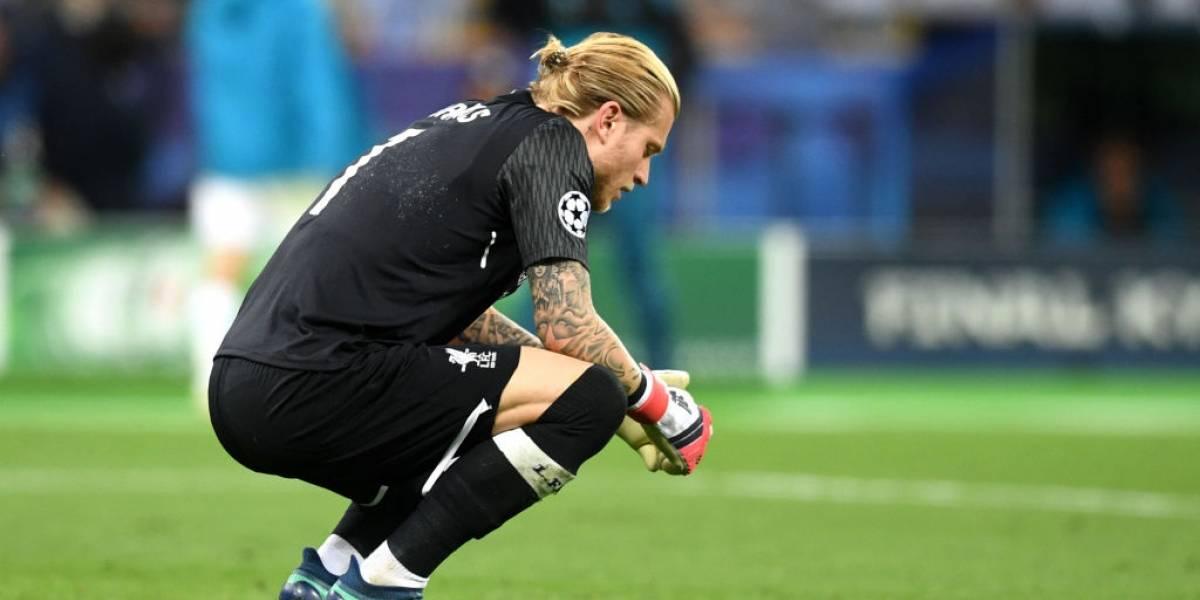 Pobre Karius: Codazo de Ramos le provocó una conmoción cerebral y podría haber afectado su juego