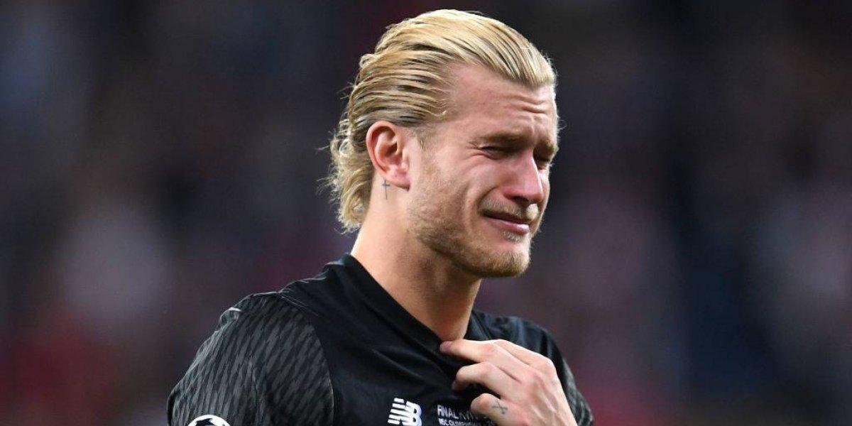 El llanto desconsolado de Karius tras sus errores infantiles en la final de la Champions