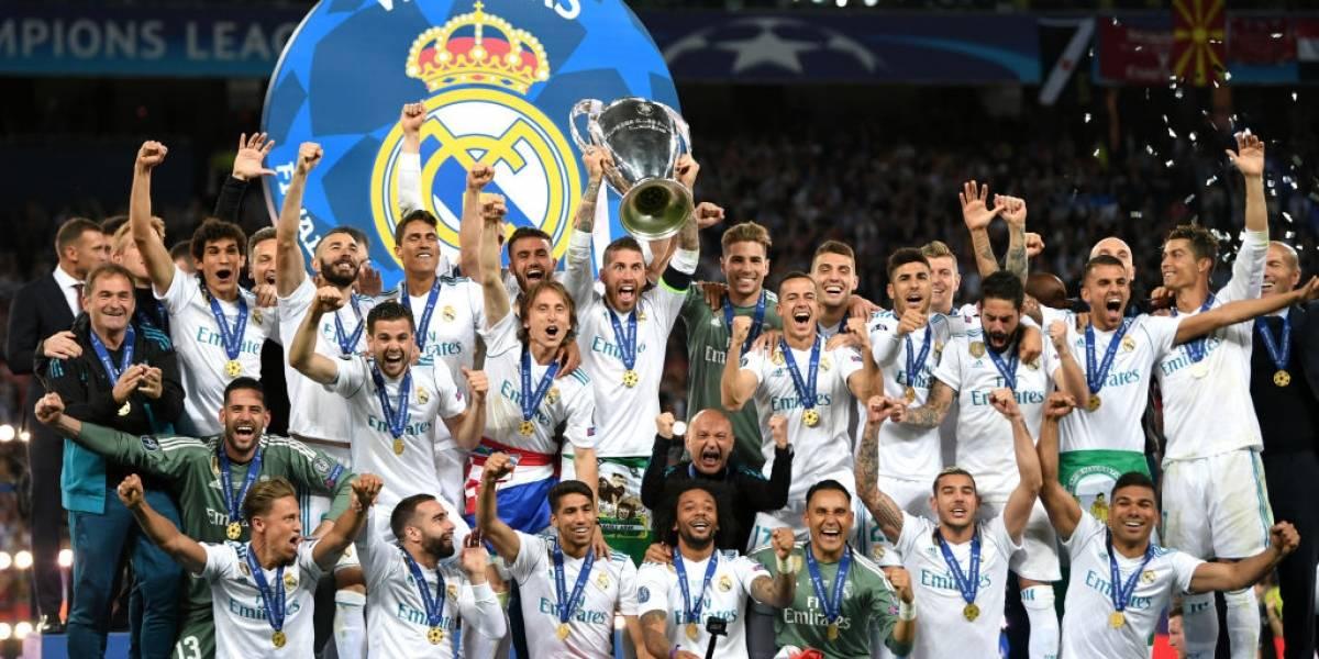 Sigue EN VIVO la celebración del Real Madrid