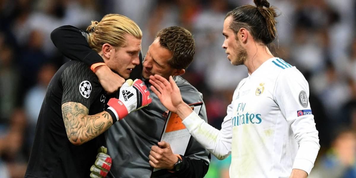 La fiesta más triste de Loris Karius en la final de la Champions League