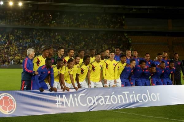 Día y hora amistoso Colombia VS Egipto