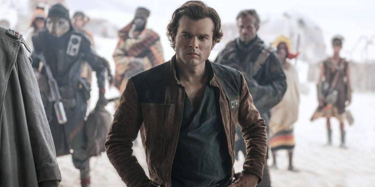 Ehrenreich como Han Solo