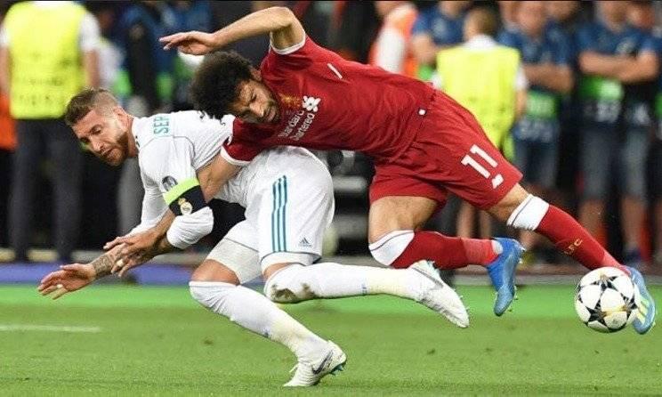 Lesión Salah Ramos