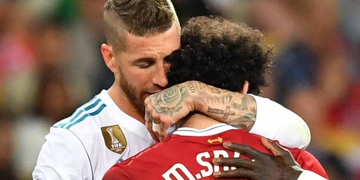 Los memes de la lesión de Mohamed Salah y el gol del Madrid en la final