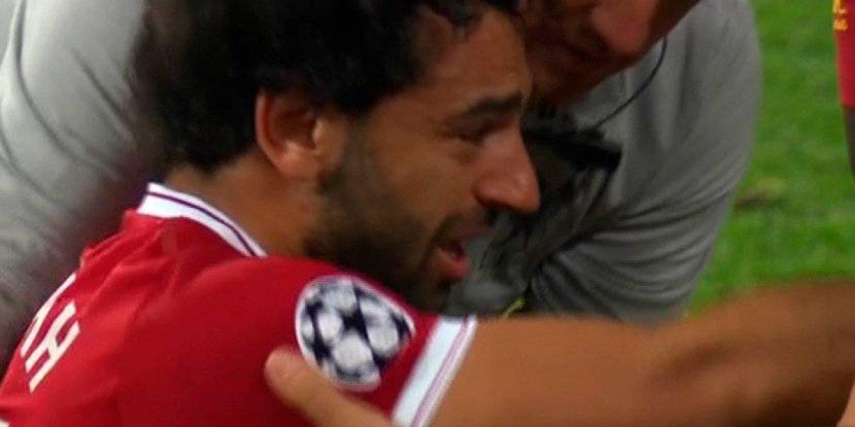 VIDEO. El inconsolable llanto de Salah, puede quedar fuera del Mundial