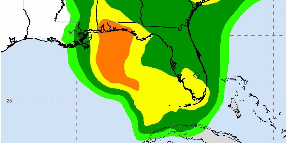 Tormenta Alberto avanza con fuertes lluvias por el Caribe hacia Florida