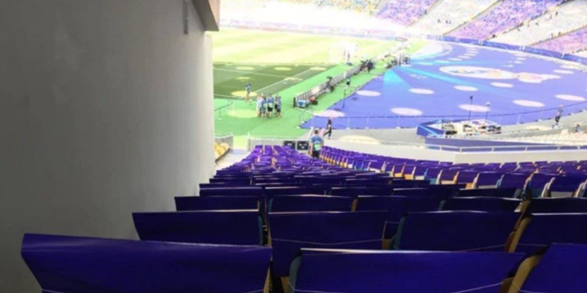 Estos son los peores asientos en la Final de la Champions League