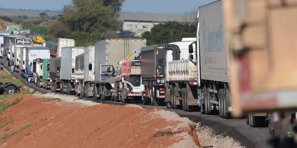 Veja aonde há manifestação de caminhoneiros nas estradas de São Paulo