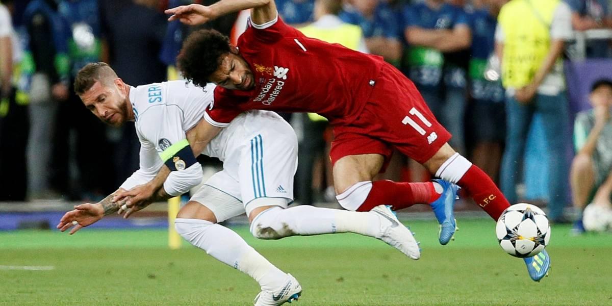 Sergio Ramos manda mensagem para Salah, mas imprensa egípcia critica zagueiro