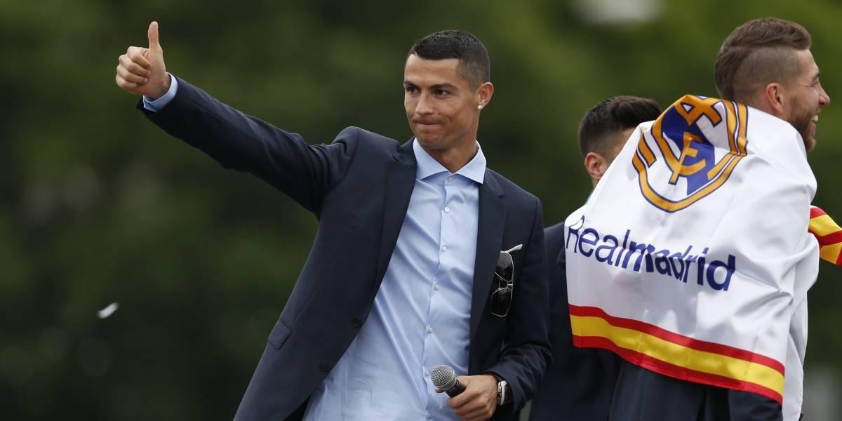 Cristiano Ronaldo ilusiona a los hinchas del Real Madrid