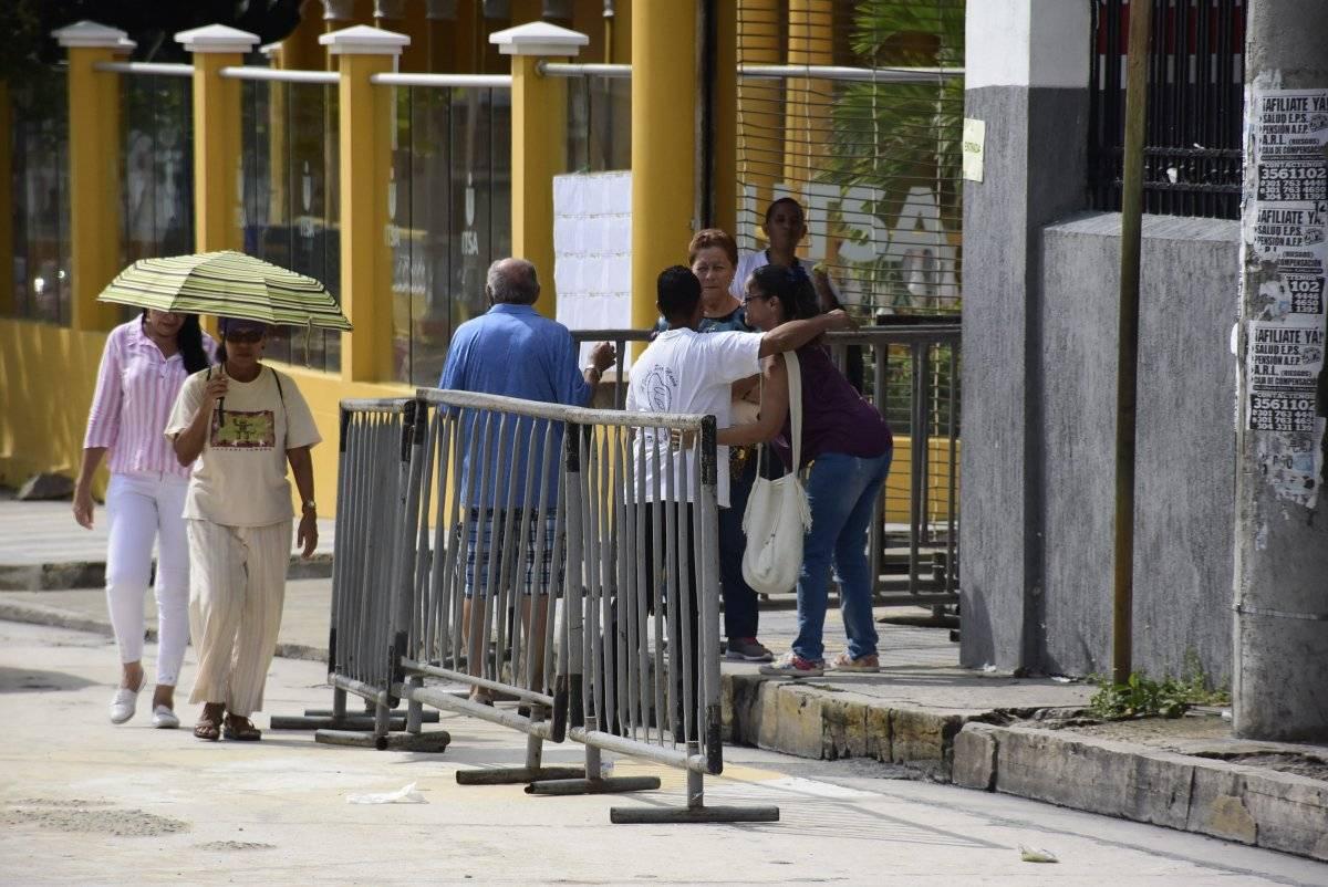 Puesto de votación del Itsa en Barranquilla. Jairo Cassiani