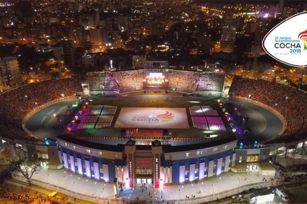 Ya se vive la fiesta de los XI Juegos Suramericanos Cochabamba 2018 - @Cocha2018