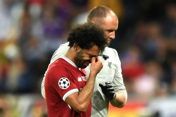 Mohamed Salah envió un mensaje sobre su lesión