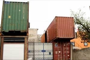 Después del sismo, su hogar será un contenedor marítimo