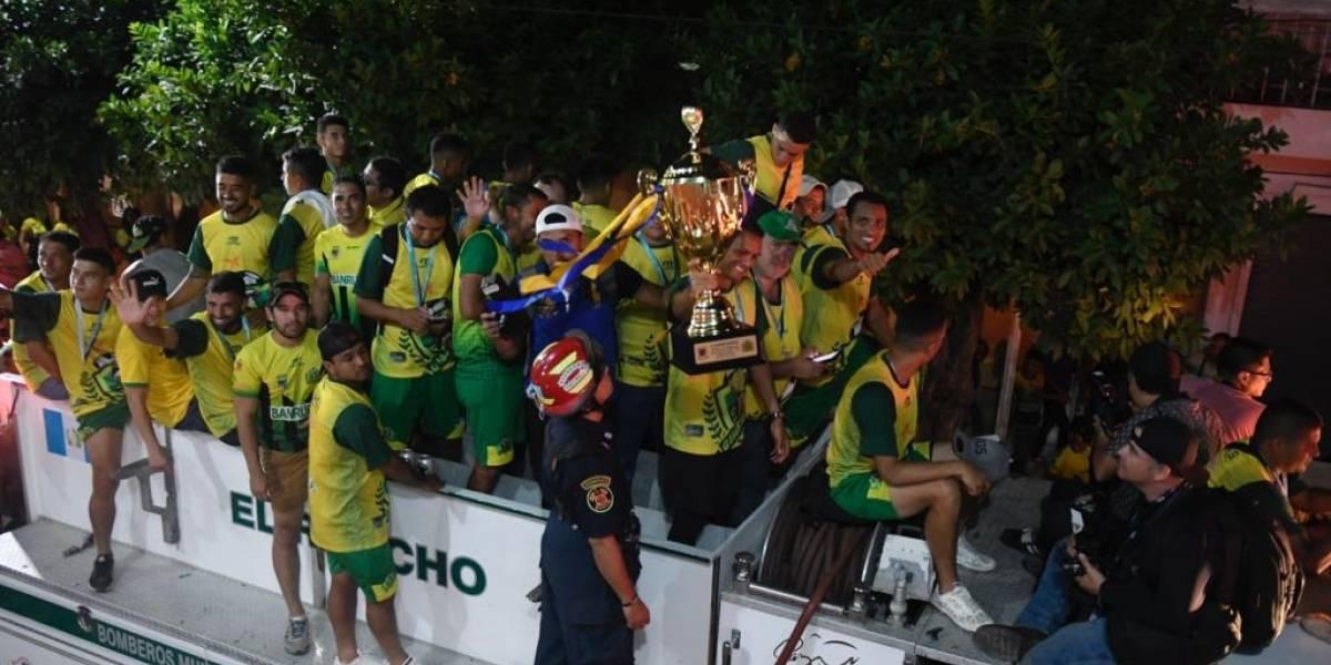 Las claves del histórico campeonato de Guastatoya