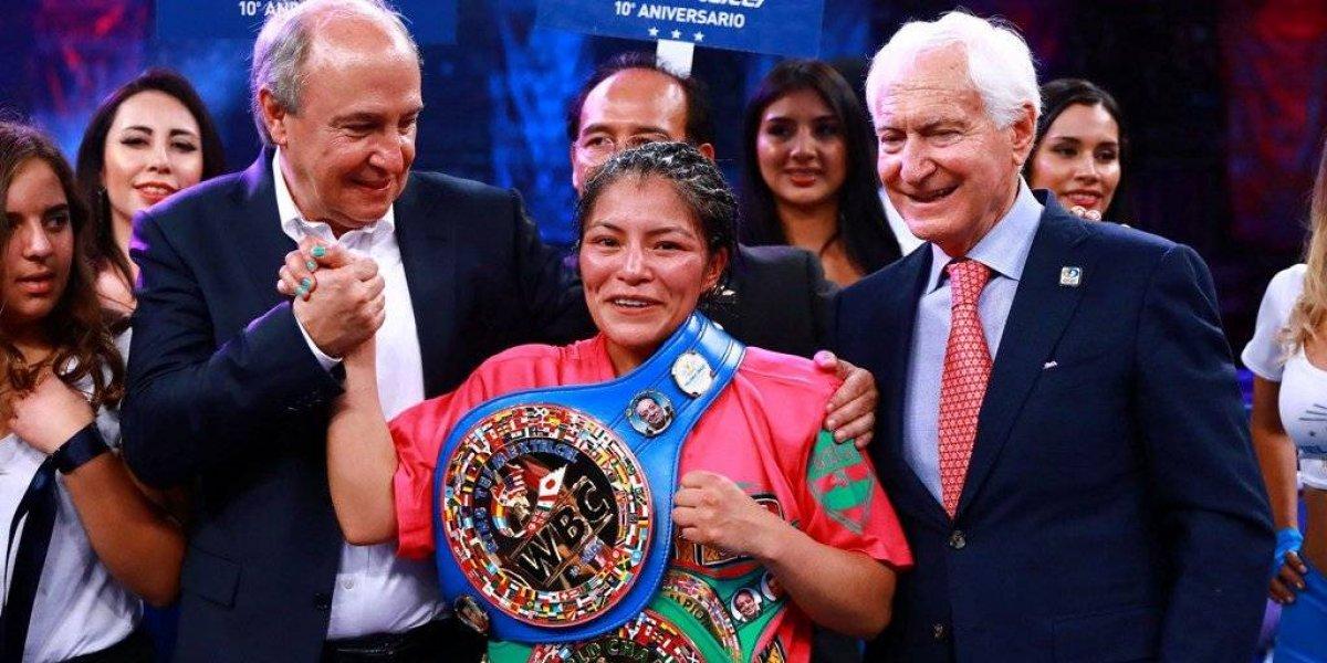 Ibeth Zamora consigue su tricampeonato en el boxeo