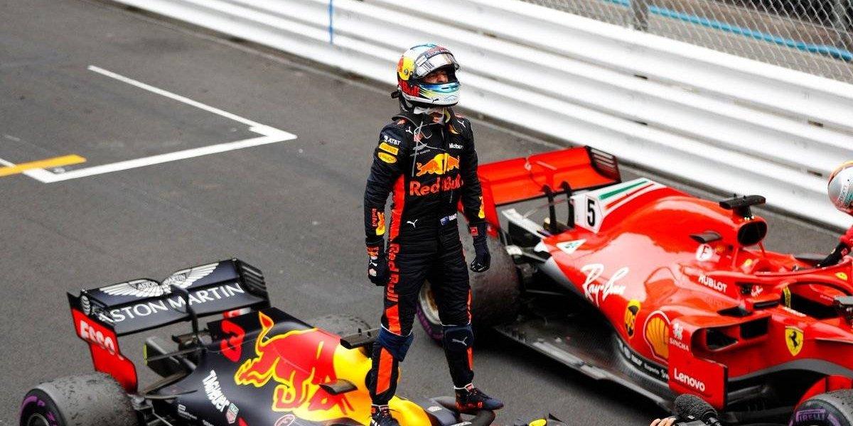 Daniel Ricciardo se corona en el GP de Mónaco